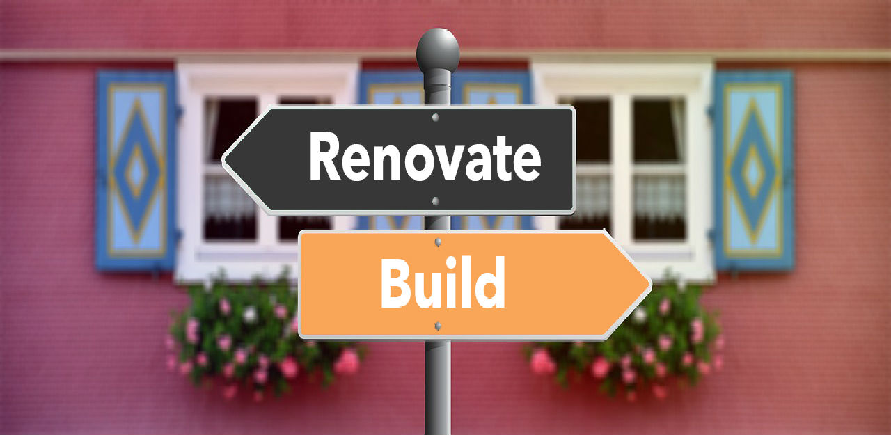 A Closer look on Remodel your current Home vs. building a new custom Home